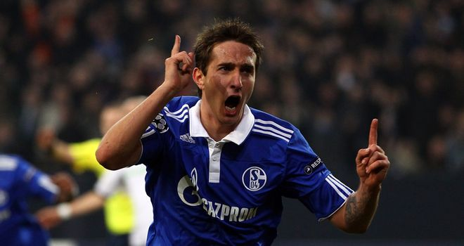 Mario Gavranovic: Allowed to leave Schalke with one year of his contract remaining