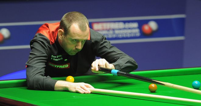 Mark Williams: Welsh left-hander has failed to beat Ronnie O'Sullivan for a decade