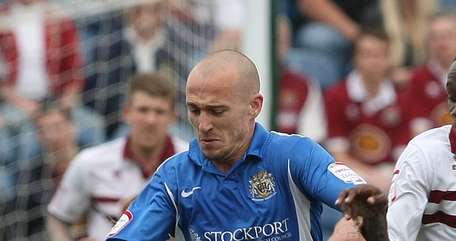 Poole: Wants to be part of Stockport's bid to get back into the Football League next season