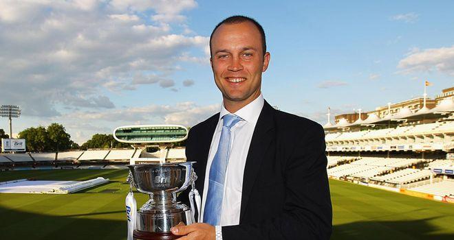 Trott: ECB Cricketer of the Year award winner