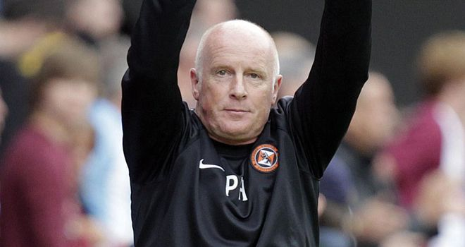 Peter Houston: Dundee United manager steers his side to famous cup win