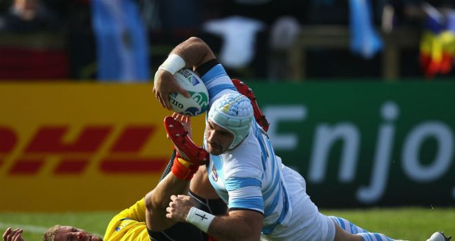 Leguizamon: First-half try