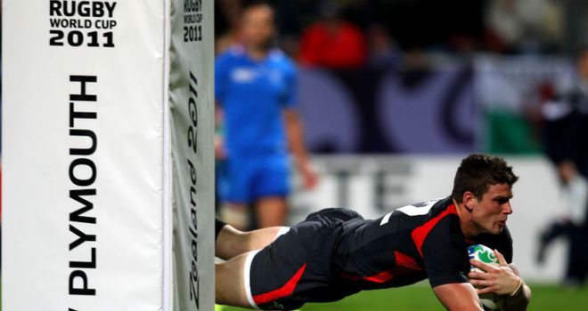 Williams: Hat-trick hero in 12-try mauling of minnows