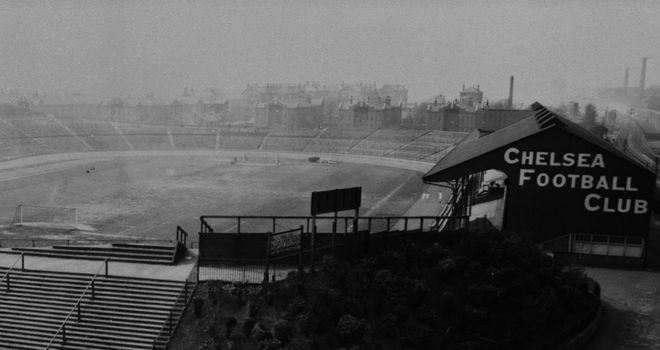 Here is how Stamford Bridge looked back in 1919