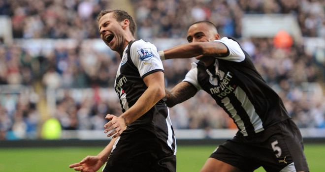 Yohan Cabaye: French midfielder has expressed his happiness at life at St James' Park.