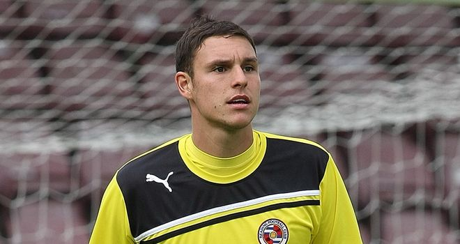 Alex McCarthy: enjoying playing games and would like to stay longer at Leeds