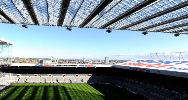 Sports Direct Arena: Newcastle are to change the name of their St James' Park home