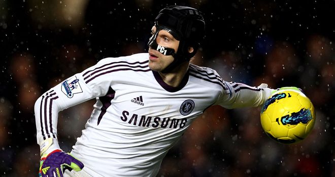 Petr Cech: Will stop wearing his protective face mask after agreement with doctors