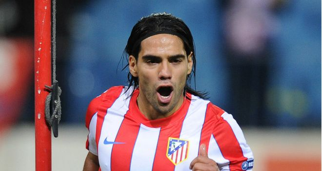 Radamel Falcao: Played down speculation linking him with Manchester City and Chelsea