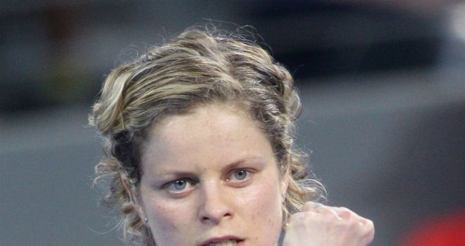 Kim Clijsters: Reeled off six games in succession
