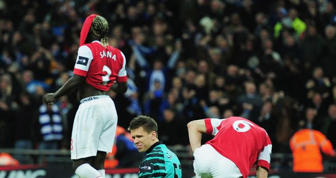 A last-gasp Obafemi Martins goal cost Arsenal the League Cup in 2011