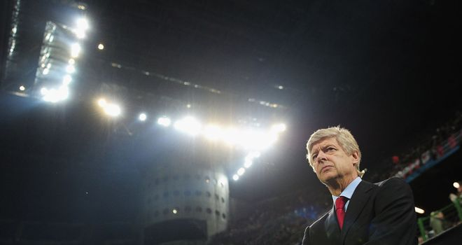 Arsene Wenger: Critical of Arsenal's display following 4-0 loss to AC Milan