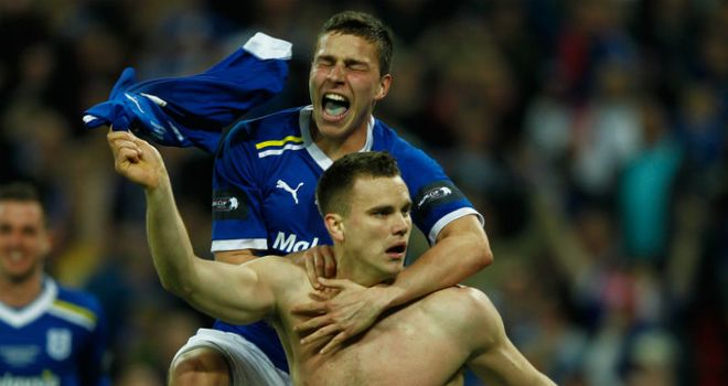 Ben Turner: Caught the eye during Cardiff's Carling Cup final defeat to Liverpool