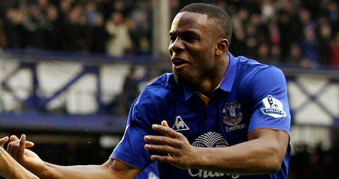 Victor Anichebe: The Everton substitute settled the contest against West Brom