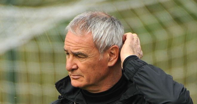 Claudio Ranieri: Sacked as Inter boss after a poor run of form