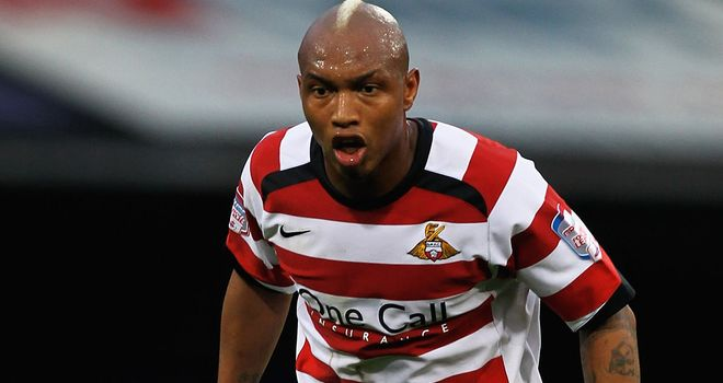 El Hadji Diouf: Set to leave Doncaster at the end of the season