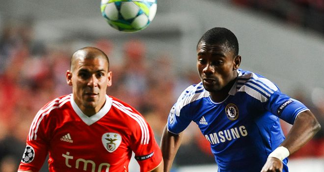 Maxi Pereira: Confident of beating Chelsea in second leg of Champions League quarter-final