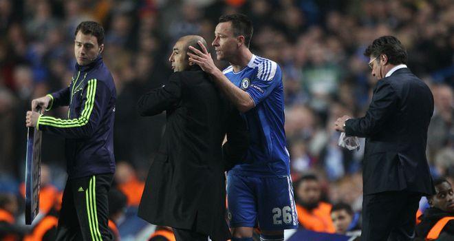 John Terry can still seen as Chelsea leader according to Roberto Di Matteo
