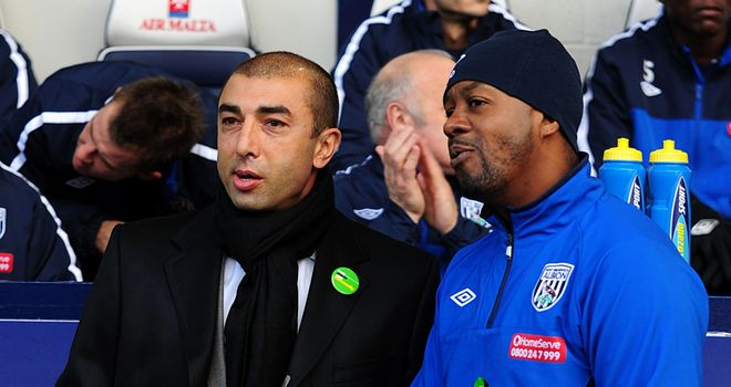 Newton was number two to Roberto di Matteo at Chelsea