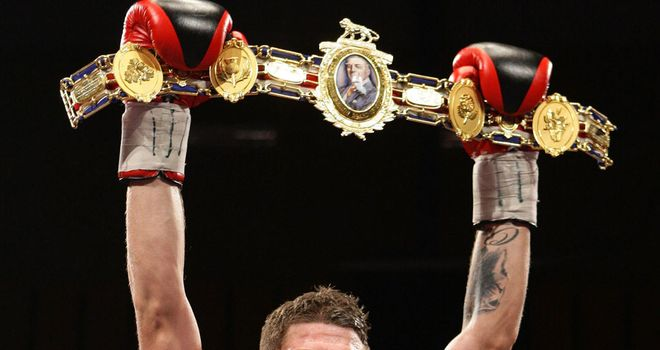 Rose: won the Lonsdale belt outright in October