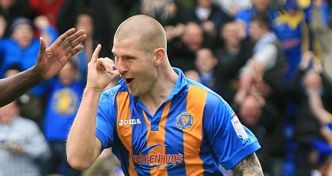 James Collins: Being chased by several clubs as he weighs up contract offer from Shrewsbury