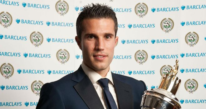 Robin van Persie: Has added Footballer of the Year crown to his honours