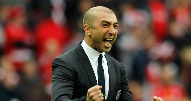 Roberto Di Matteo: Delighted at cup final win