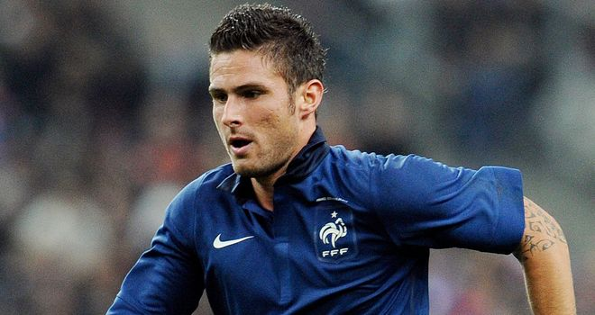 Olivier Giroud: Tough times for club and country for the striker