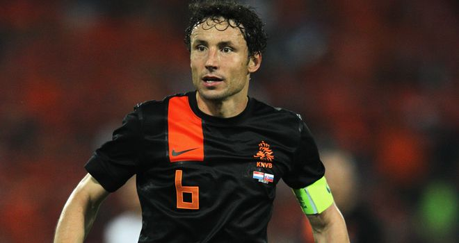 Mark van Bommel: Holland captain had been furious about the events at the Stadion Miejski