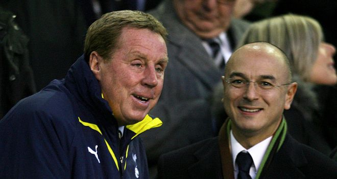 Harry Redknapp and Daniel Levy could not reach agreement over a new contract