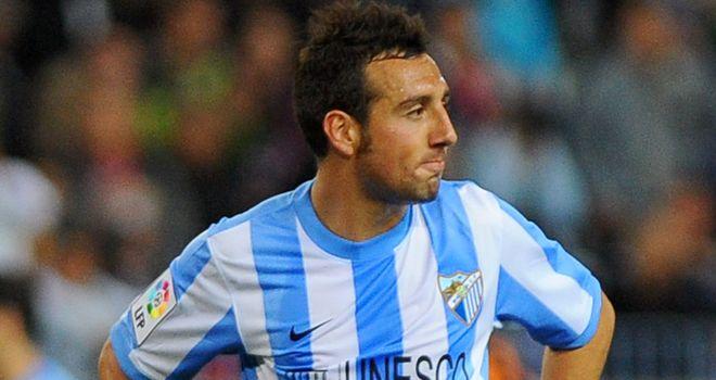 Cazorla: With Malaga for the 2011/12 season