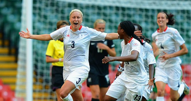 Steph Houghton: Scored the only goal of the game in Cardiff in the 64th minute