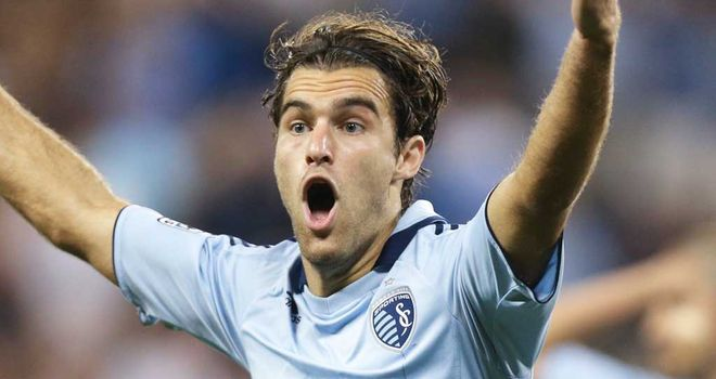 Graham Zusi: Training with West Ham United