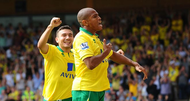 Simeon Jackson: Opened the scoring early on for Norwich
