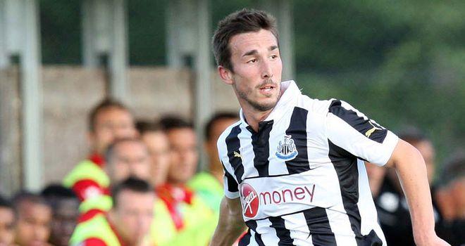 Romain Amalfitano: Newcastle midfielder is joining Dijon on loan