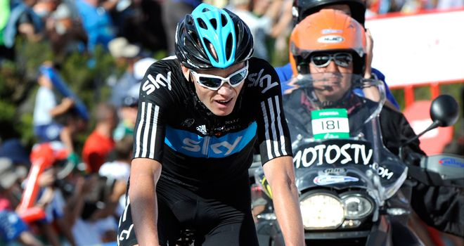 Froome: Tough day in the mountains