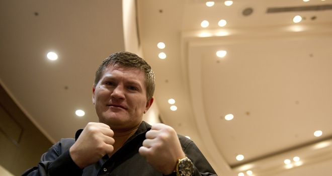 Ricky Hatton: Has not fought for more than three years