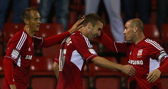 Williams: On target for Swindon