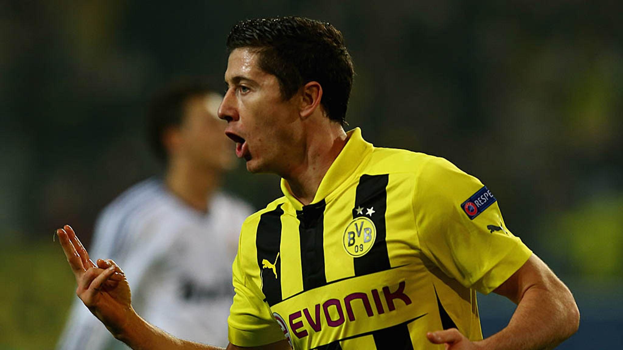 uk availability ce8b7 9cf78 Borussia Dortmund striker Robert Lewandowski unlikely to ...