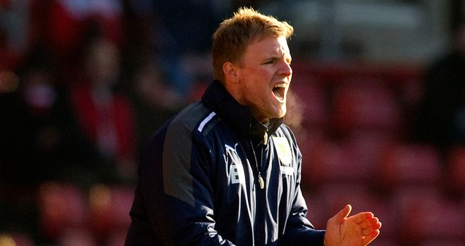Eddie Howe: Unbeaten in charge at Bournemouth and named November manager of the month