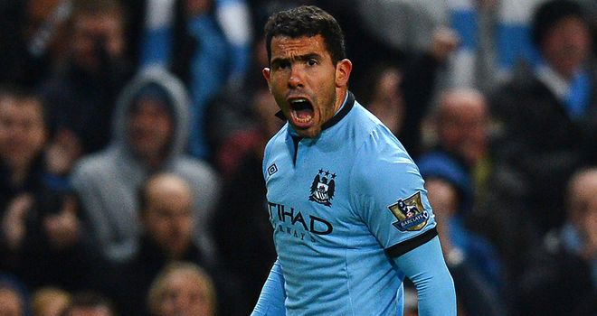 Carlos Tevez: Dipping shot settled game