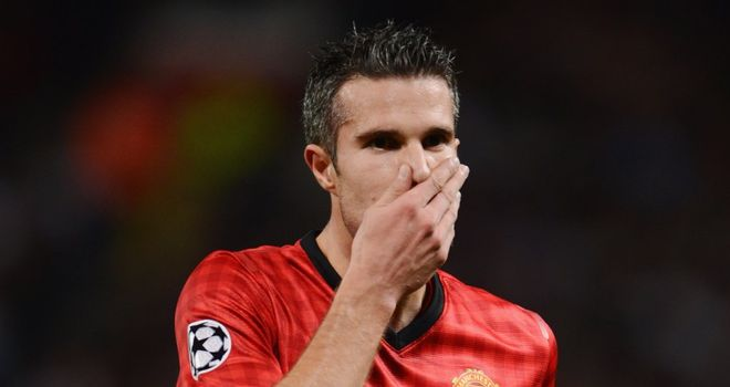 Robin van Persie: Set to line up against former club Arsenal for Manchester United