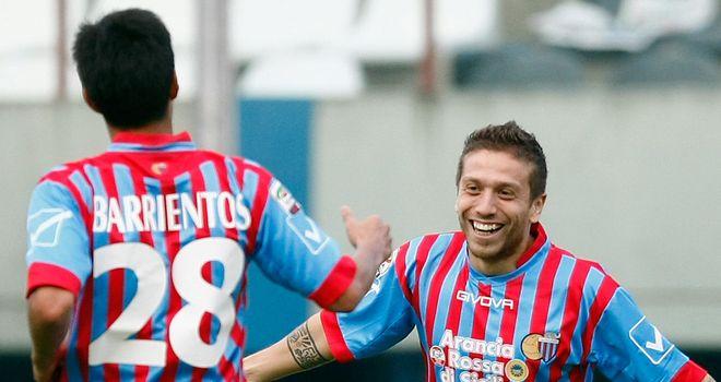 Alejandro Gomez: Former Catania winger wants to return to Italy