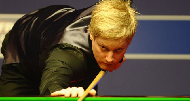 Neil Robertson: Sees off Murphy in China