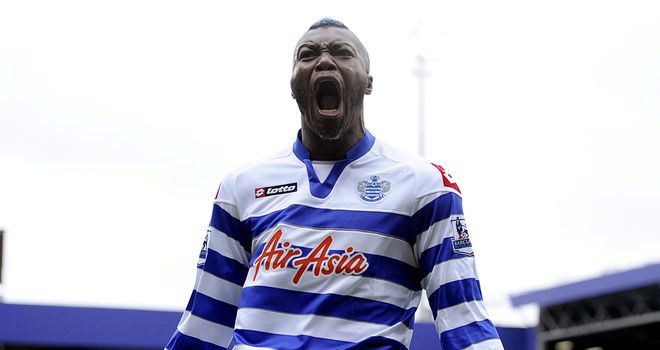 Djibril Cisse: Celebrates his equaliser