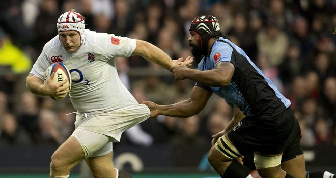 Thomas Waldrom won five caps for England from 2012 to 2013