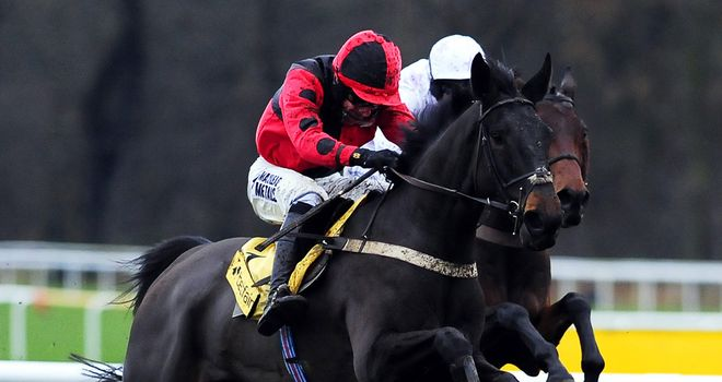 Trustan Times on his way to a big pay-day at Haydock