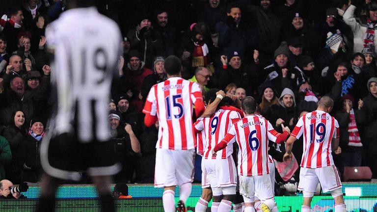 Stoke: Celebrate Cameron Jerome's late winner