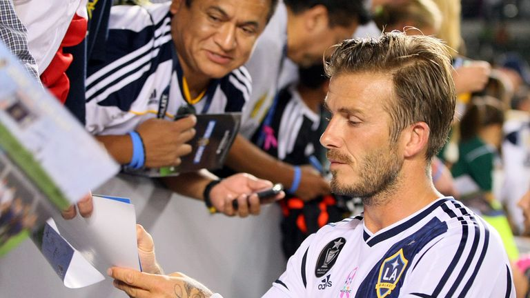 848ec0f7c6 David Beckham  Former England captain is wanted by several Australian  clubs