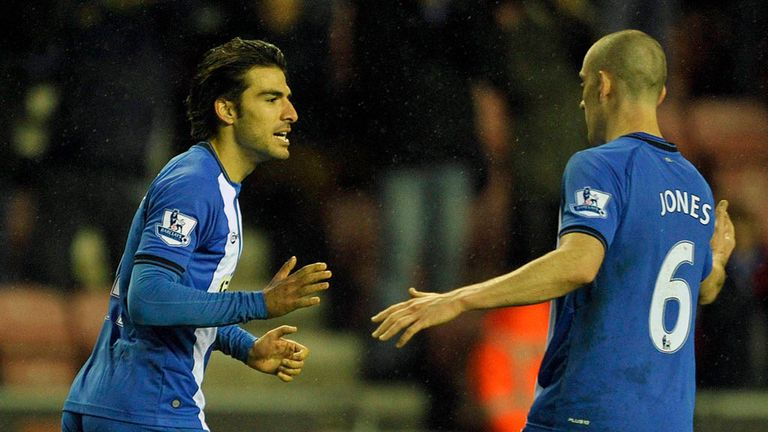 Jordi Gomez: Delighted to become only the second ever Spaniard to score a Premier League hat-trick
